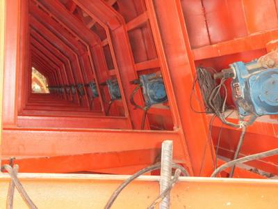 高频振动器施工工地现场